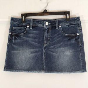 """""""London Jean"""" Jean skirt"""